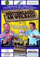 Das war die Weilbacher Hüttengaudi 2016